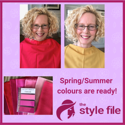 spring and summer colours are ready